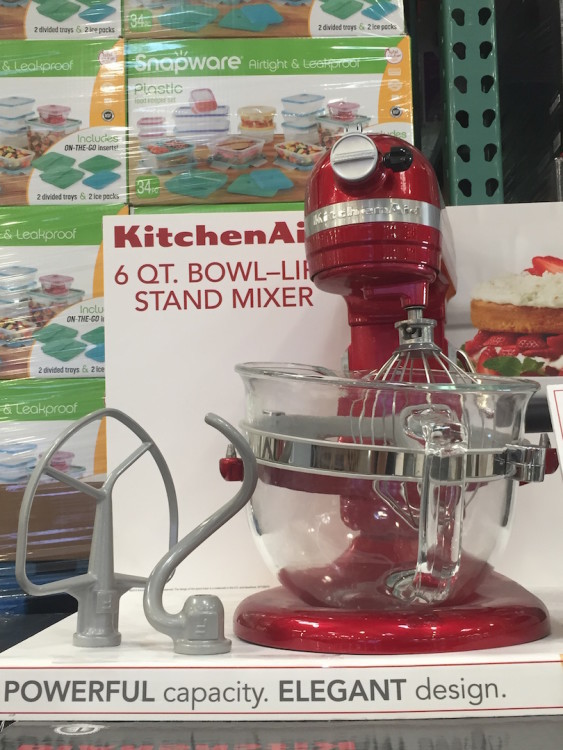 KitchenAid Professional 600 Design Series Model: KF26M22CA Costco Item #97249 Price: $289.99 after $60 instant saving Valid: 10/29/2015 - 11/29/2015