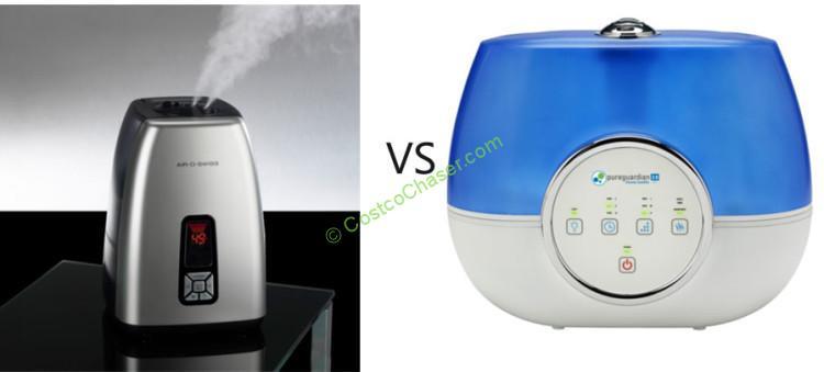 Air-O-Swiss 7144 vs PureGuardian H4810 Ultrasonic Humidifier