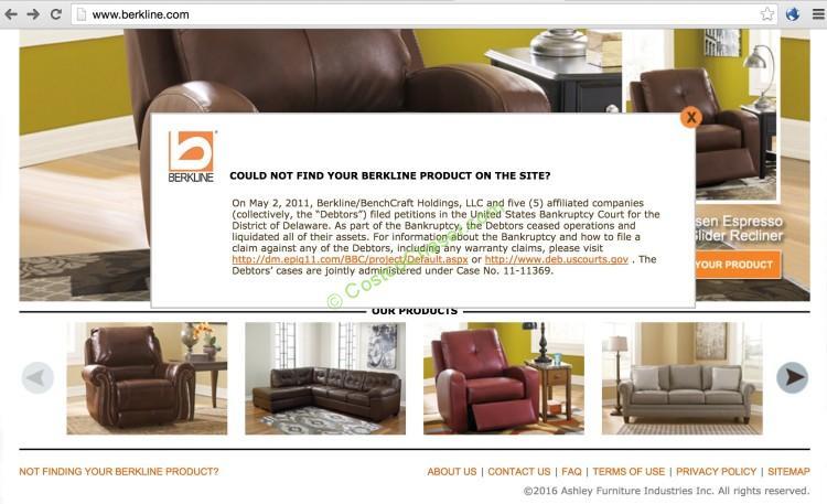 About Berkline Home Furnishings