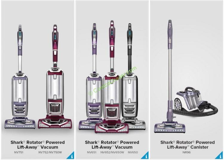 Compare All Models of Shark Rotator Lift-Away Vacuums