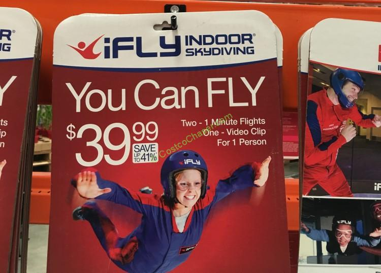 Discounted iFly Flight Package