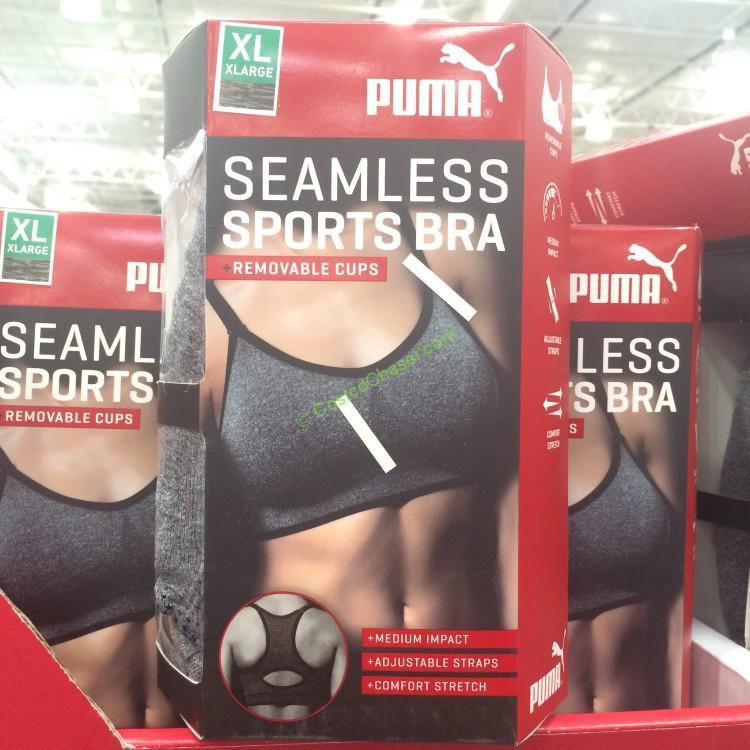 Costcochaser: Puma Ladies Seamless Sports Bra