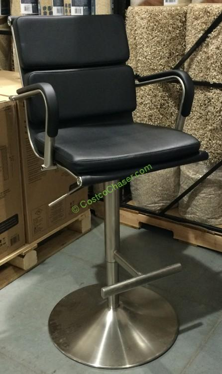 Bayside Furnishings Gas Lift Bar Stool Costcochaser