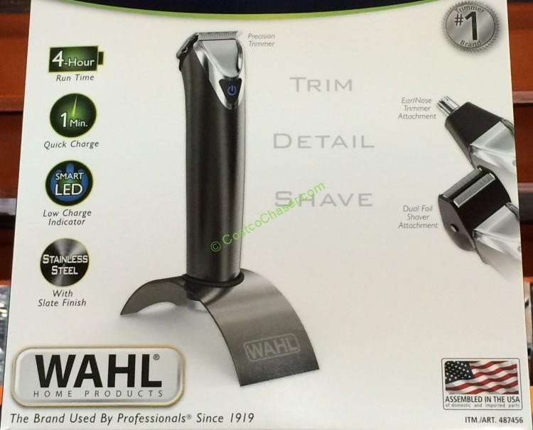 Wahl Platinum Edition Lithium Ion Grooming Kit