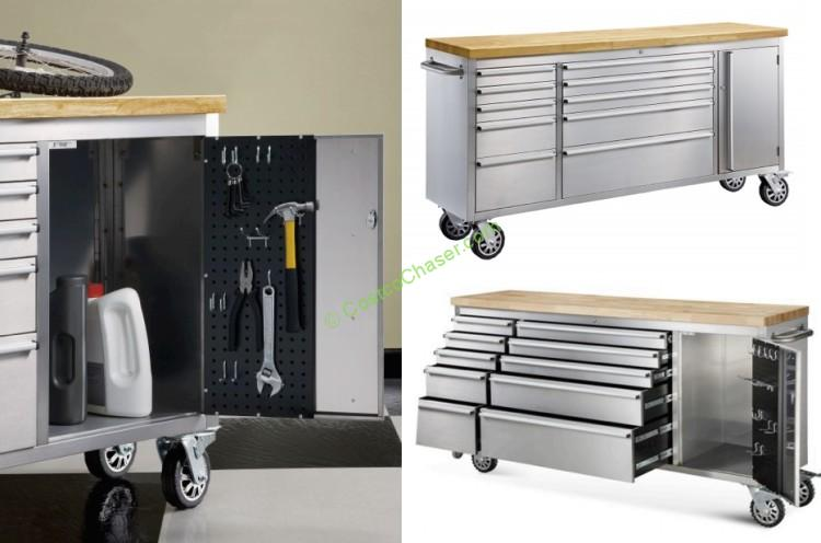 "Costco 72"" Stainless Steel Tool Chests Recall"