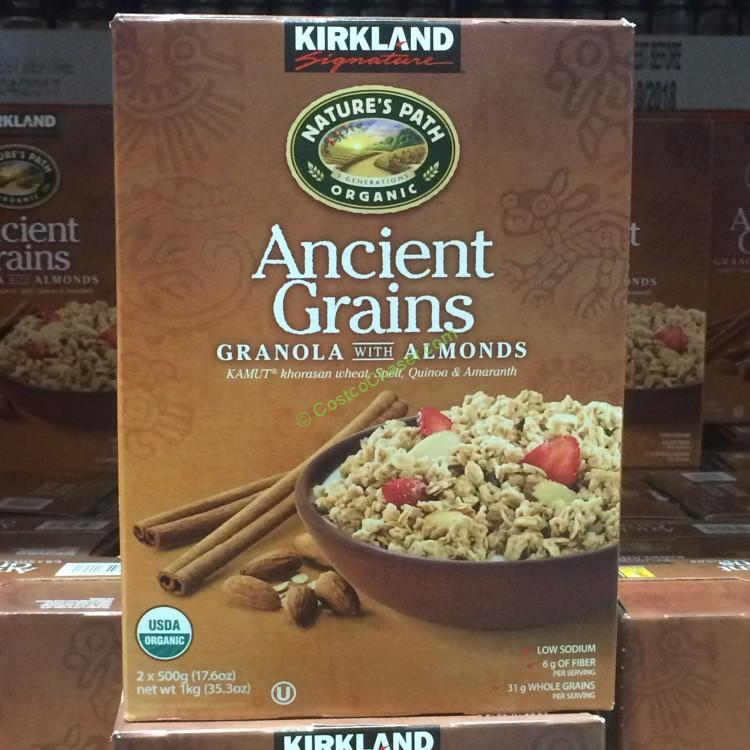 Kirkland Signature Organic Ancient Grains Granola with Almonds