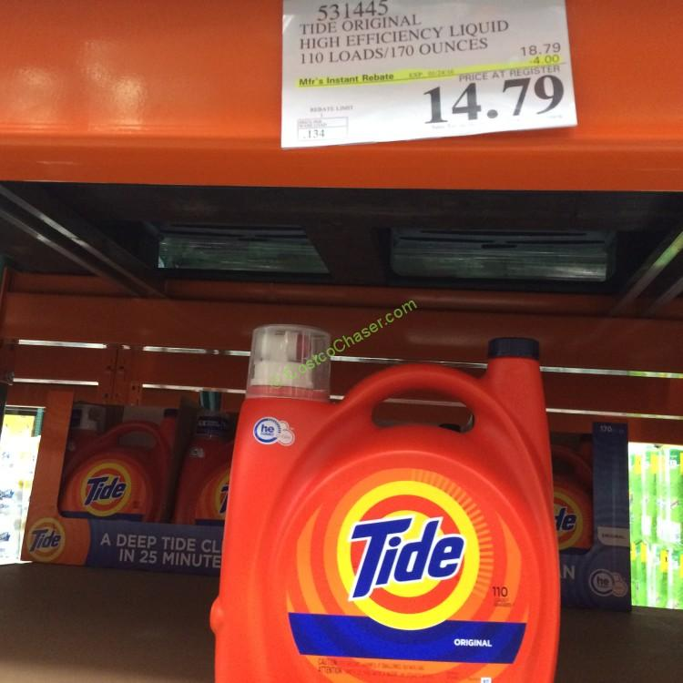 Tide High Efficiency Laundry Detergent (Power & Liquid)