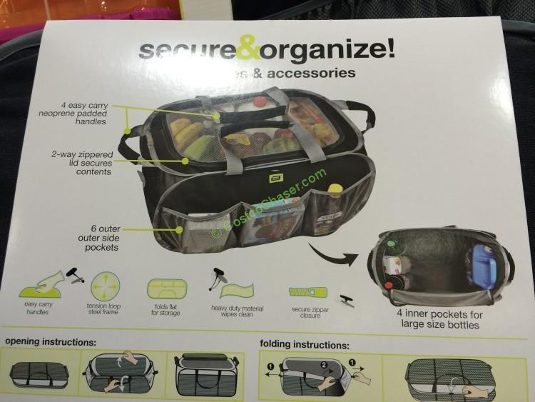 Smart Design Pop Up Organizer Tote Costcochaser