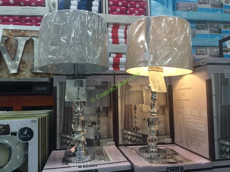 Costco 678173 Stylecraft Table Lamp Set Costcochaser