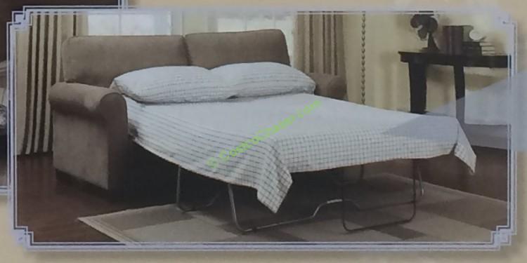 Fabric Sofa with Sleeper