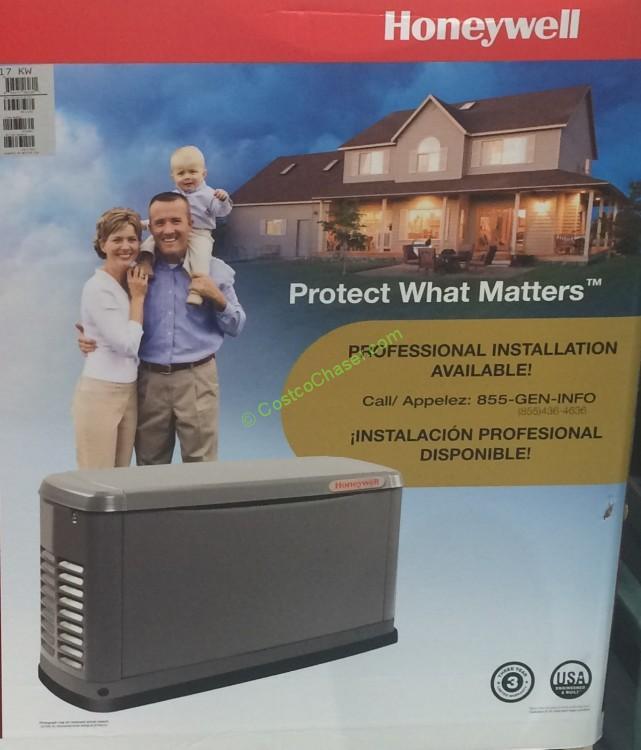 Costcochaser: Honeywell By Generac 17kw Standby Generator