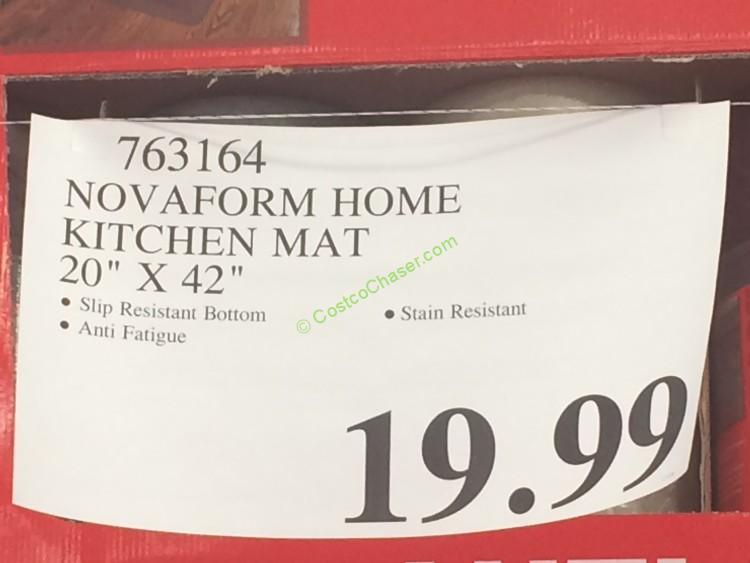 Costco 763164 Novaform Home Kitchen Mat Tag Costcochaser
