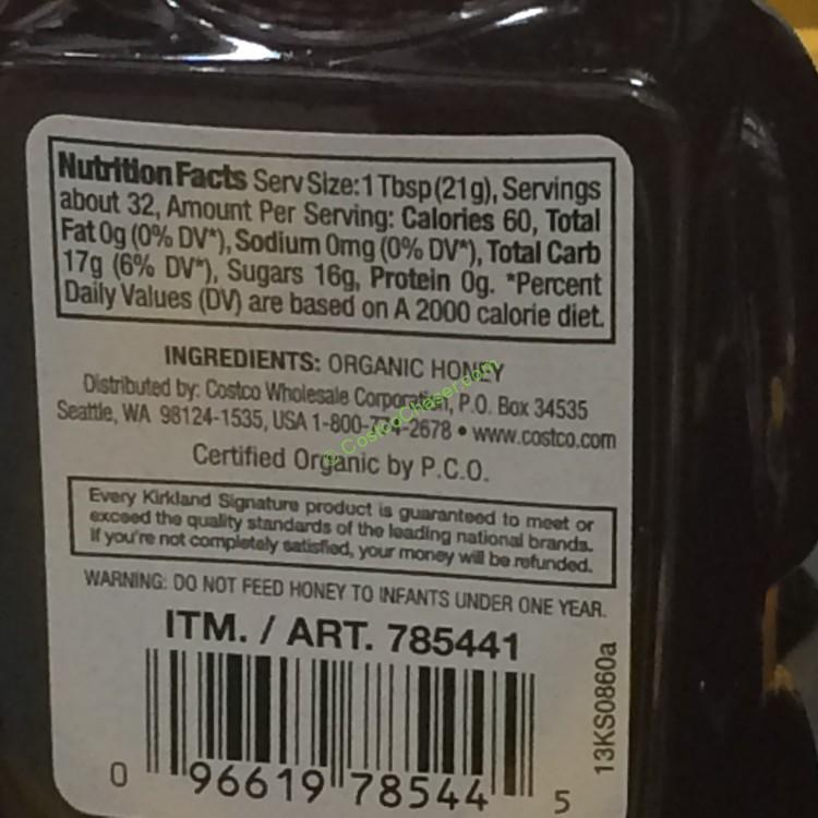 Kirkland Signature Organic Honey Bears – CostcoChaser