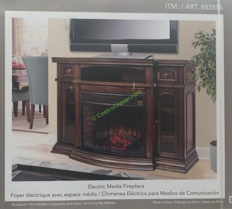 Costco 885886 Ember Hearth Electric Firplace Pic
