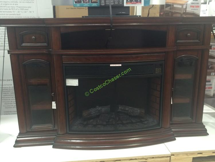"Ember Hearth Electric Fireplace 70"" Media Console"