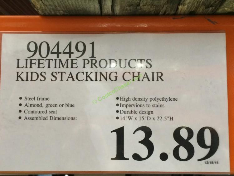 Lifetime Products Kits Folding Table Amp Stacking Chair