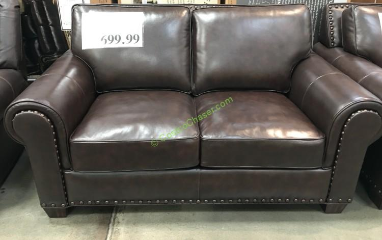 Adalyn Home Leather Loveseat