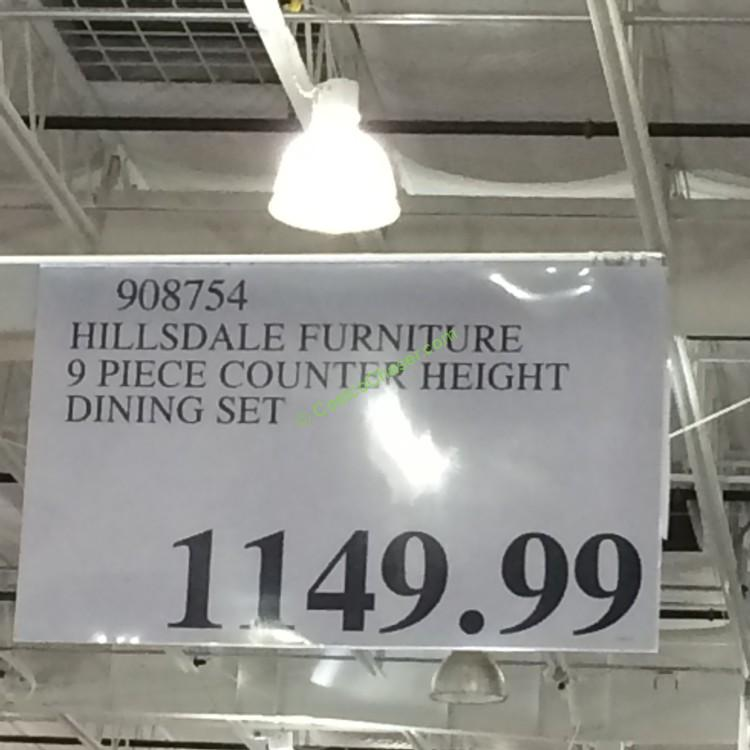 Costco Furniture Coupons: Costco-908754-hillsdale-furniture-9-piece-counter-heighr