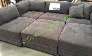 Costco 911353 6pc Modular Fabric Sectional 1 Costcochaser