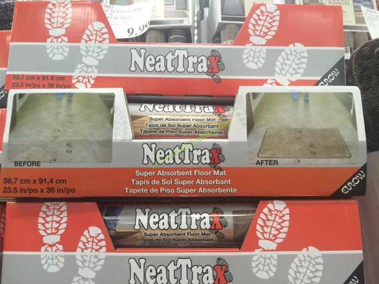 Eurow NeatTrax Super Absorbent Floor Mat