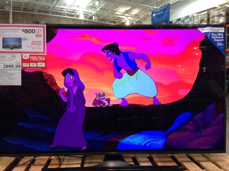 "Samsung UN75JU641D 75"" Class UHD LED LCD TV"