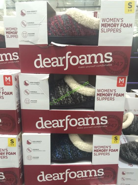 Costco Dearfoams Slipper Costcochaser