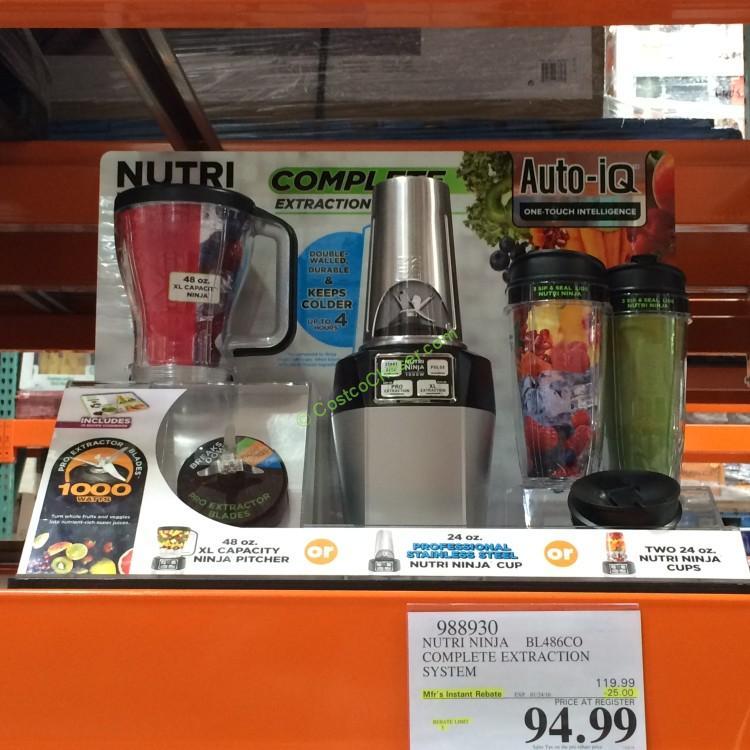Costcochaser: Nutri Ninja Auto IQ Blender (Model No. BL486CO)