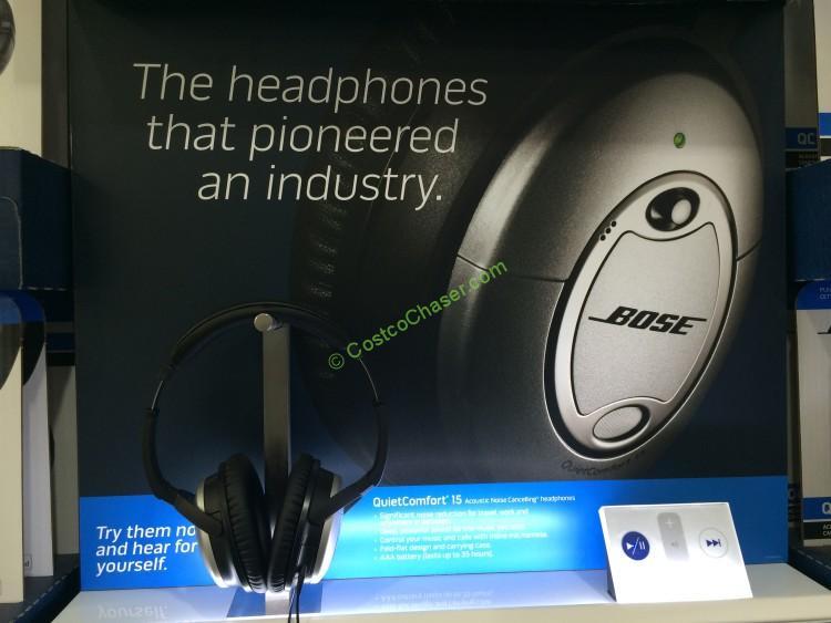 Bose QuietComfort15 Acoustic Noise Cancelling Headphones