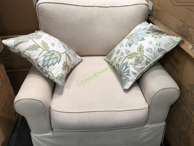 Synergy Fabric Swivel Glider
