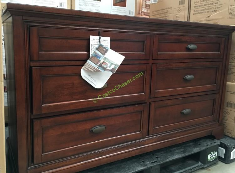 universal furniture broadmoore media dresser costcochaser 15021 | costco 997674 universal furniture broadmoore media dresser