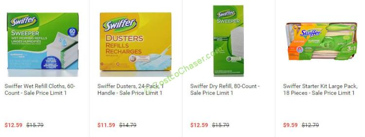 Costco Swiffer Refill Cloths - January 2016 Swiffer Coupon