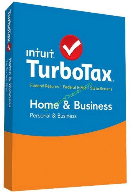 Costco TurboTax 2016 for Federal and State 2015 Filing