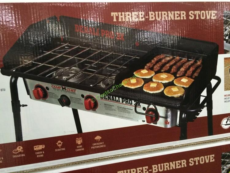 Camp Chef Denali Pro 3 Burner Camp Stove & Griddle – CostcoChaser