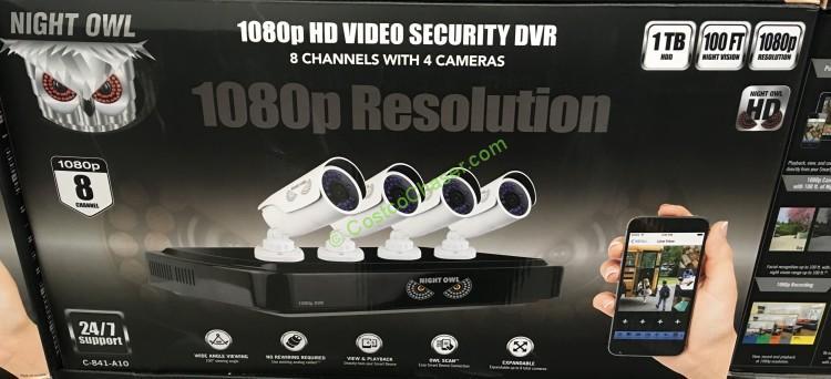 Night Owl HD Surveillance System 8 Channel / 4 Camera – CostcoChaser