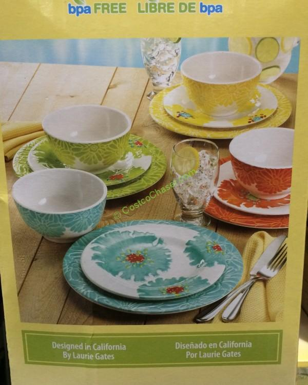 costco-1026127-pandex-laurie-gates-12pc-dinnerware-set- & Pandex Laurie Gates 12PC Dinnerware Set \u2013 CostcoChaser