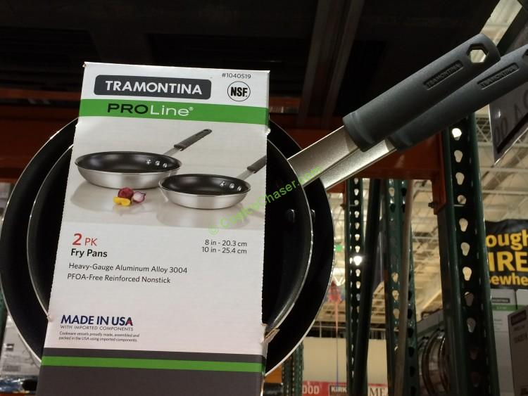 Tramontina 2pk Nonstick Fry Pan With Silicone Grips