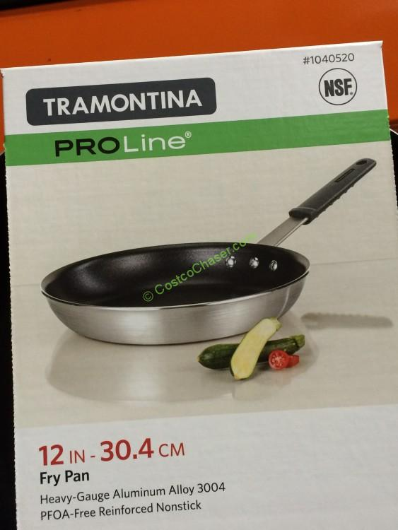 """Tramontina 12"""" Nonstick Fry Pan with Silicone Handles"""