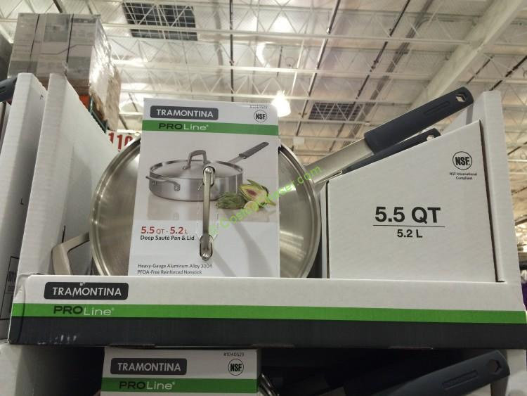 Tramontina 5.5QT Saute Pan with Non-stick Coating