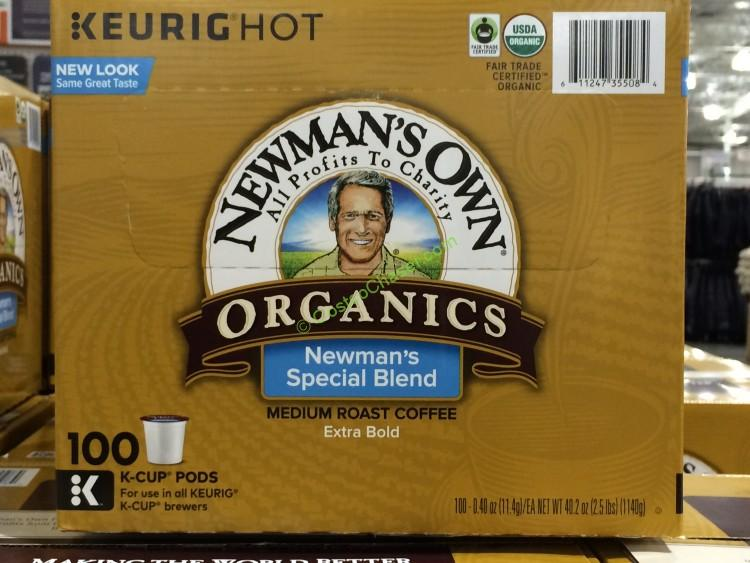 New Man's Own Organic Special Blend, 100ct K-Cup Pods