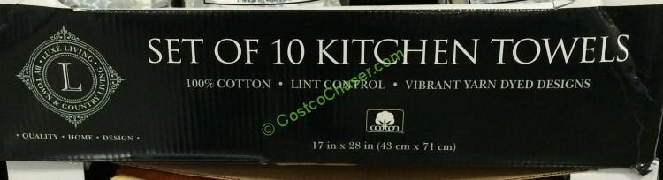 Chef S Pantry Kitchen Towel 10 Pack Costcochaser
