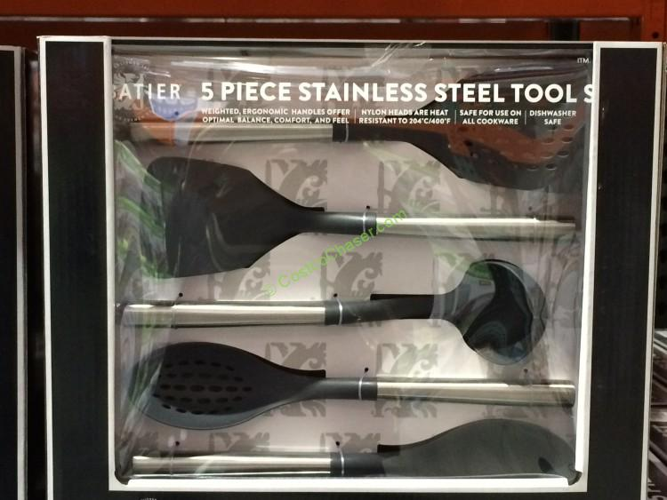 Sabatier 5-Piece Kitchen Stainless Steel Tool Set