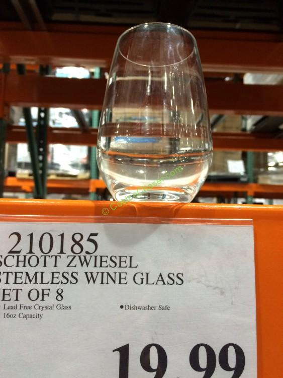 c35894aeefc Schott Zwiesel Stemless Wine Glass Set of 8 – CostcoChaser