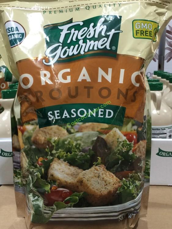 Organic Fresh Gourmet Seasoned Croutons 32 Ounce Bag