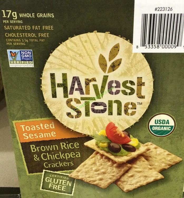 Harvest Stone Organic Brown Rice & Chickpea 20 Ounce Box