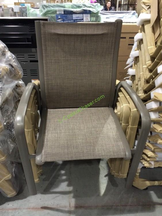Kirkland Signature Commercial Sling Chair Costcochaser