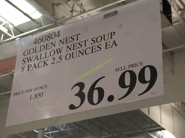 Costco 460804 Golden Nest Swallow Nest Soup Costcochaser