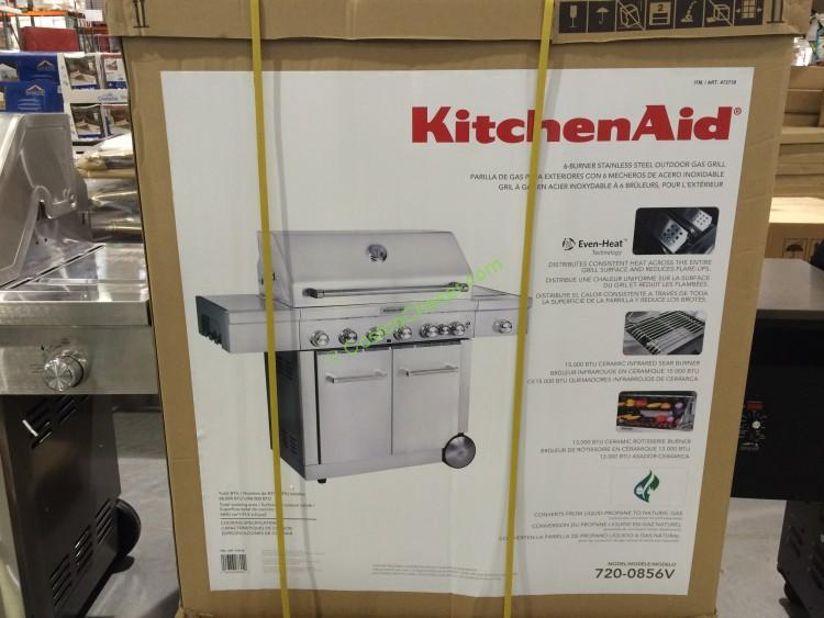 KitchenAid 8-burner Grill LP/NGM#720-0856V