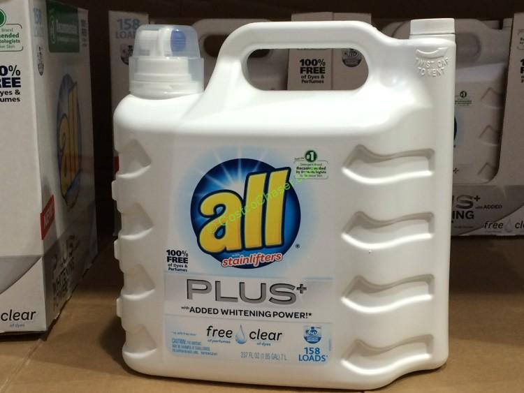 costco-487322-all-free-clear-plus-liquid-detergent