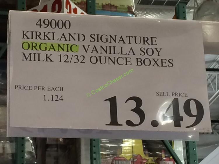 costco-49000-Kirkland-Signature-Organic-Vanilla-Soy-Milk-tag