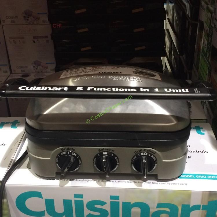Cuisinart 5 In 1 Griddler Gourmet Costcochaser